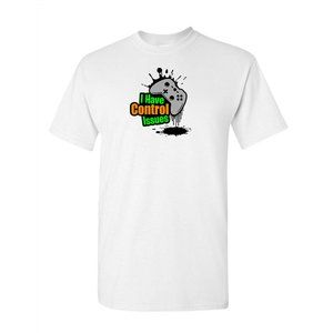 Youth Kids Control Issues Color T-Shirt